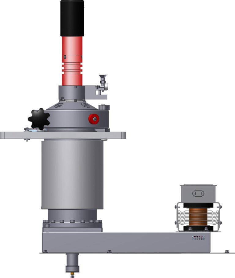 Schéma SRC s magnetrónom