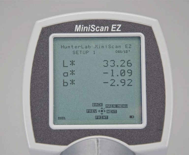 Miniscan EZ displej
