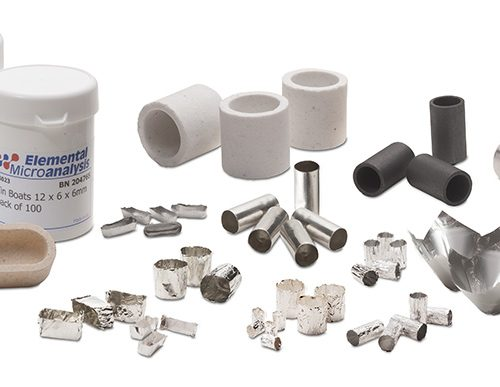 Materiál pre elementárne analyzátory