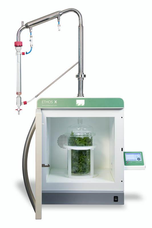 ETHOS X extrakcia rastlín