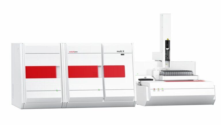 multi X 2500s dávkovačom kvapalných vzoriek